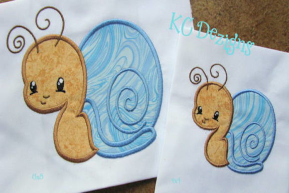 Baby Bug Snail Bugs & Insects Embroidery Design By karen50