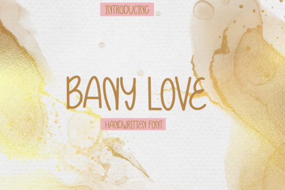 Print on Demand: Bany Love Script & Handwritten Font By Avadesing