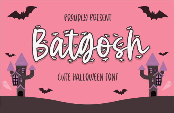 Print on Demand: Batgosh Script & Handwritten Font By Typefar
