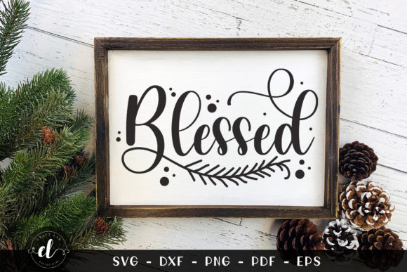 Blessed Graphic Crafts By CraftlabSVG