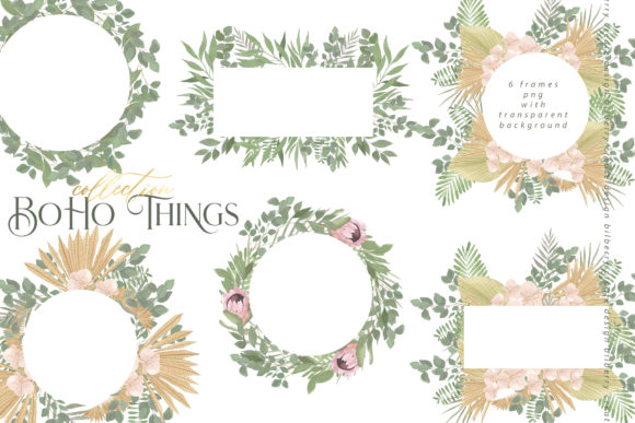 Boho Things Art Collection Popular Design