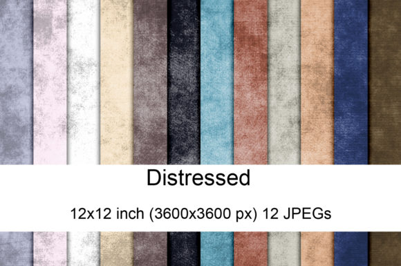 Print on Demand: Distressed Digital Textures Graphic Textures By Andrea Kostelic
