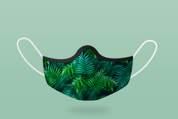 Face Mask Photoshop Mockup Graphic Preview