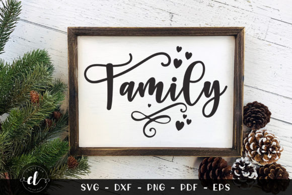 Family Graphic Crafts By CraftlabSVG