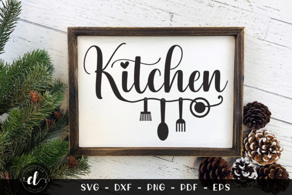 Farmhouse Kitchen Graphic Crafts By CraftlabSVG