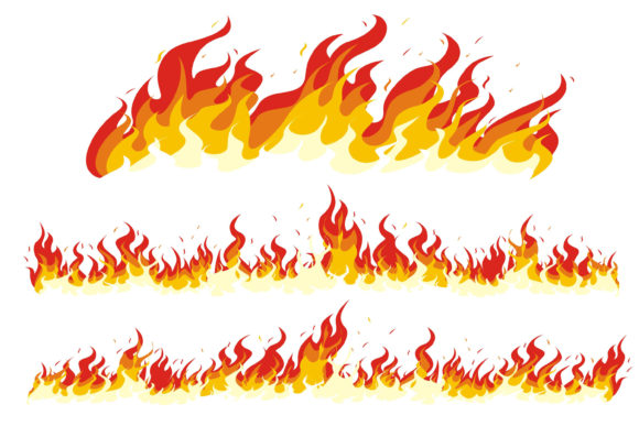 Print on Demand: Fire Amazing Blazing Graphic Illustrations By edywiyonopp