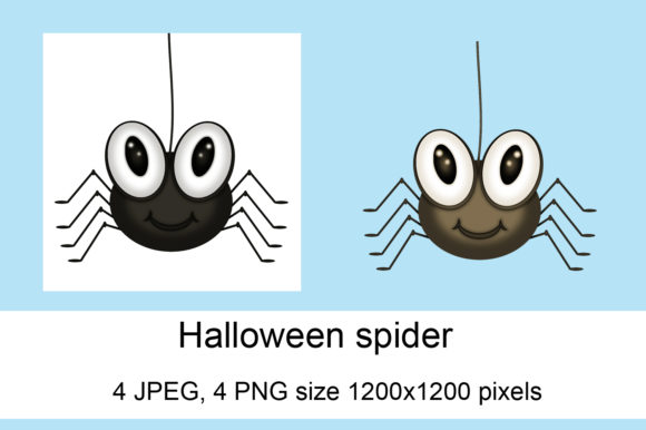 Print on Demand: Halloween Spider Graphic Crafts By Andrea Kostelic