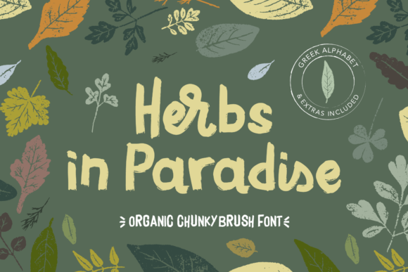 Print on Demand: Herbs in Paradise Script & Handwritten Font By georgebourle
