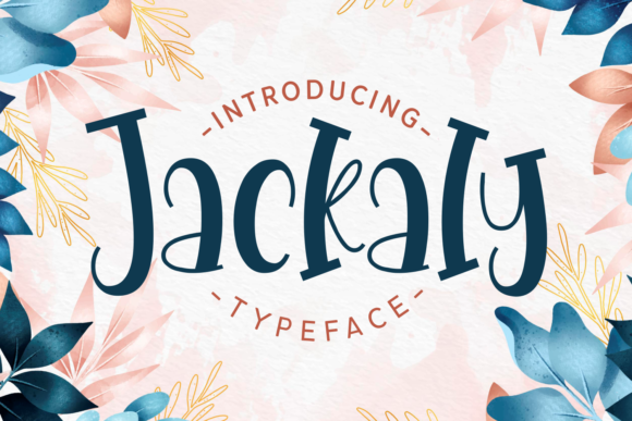 Print on Demand: Jackaly Display Font By Dani (7NTypes)