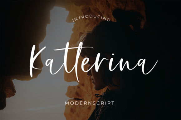 Print on Demand: Katterina Script & Handwritten Font By formatikastd