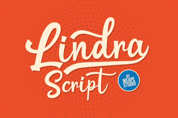 Print on Demand: Lindra Script & Handwritten Font By Weape Design