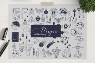 Magic Vector Elements Graphic Illustrations By By Anna Sokol