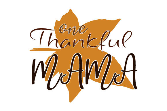 Print on Demand: One Thankful Mama Fall Thanksgiving Graphic Crafts By ShineGreenArt
