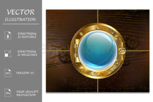 Porthole Graphic Illustrations By Blackmoon9