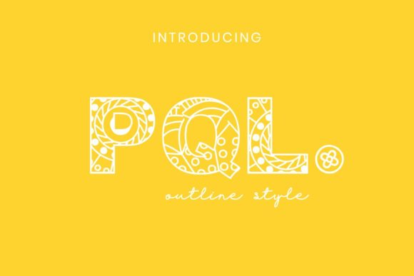 Print on Demand: Pql Display Font By Pidco.art
