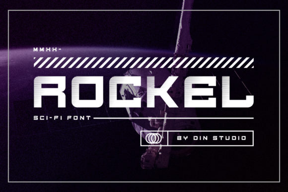 Print on Demand: Rockel Display Schriftarten von Din Studio