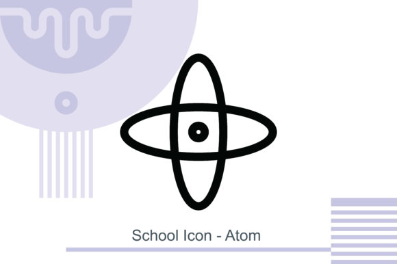 School Icon - Atom Graphic Icons By MelindAgency