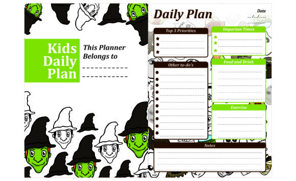 Print on Demand: Simple KDP with Witch Halloween Theme Graphic Crafts By Arief Sapta Adjie