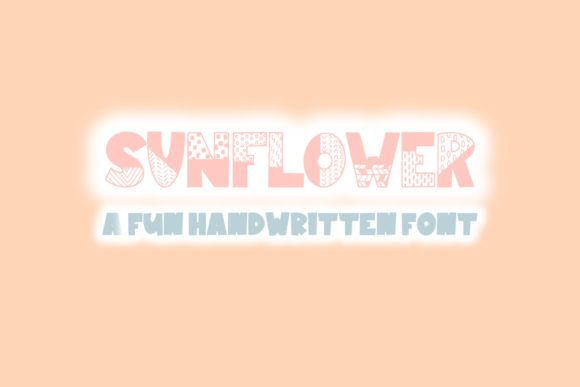 Print on Demand: Sunflower Display Font By Fairways and Chalkboards