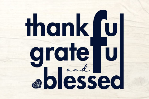 Print on Demand: Thankful Grateful Blessed - Thanksgiving Graphic Crafts By ShineGreenArt
