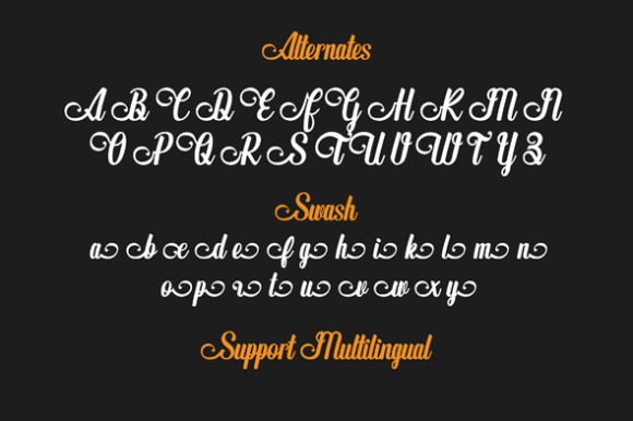 The Butterplay Font Design Item