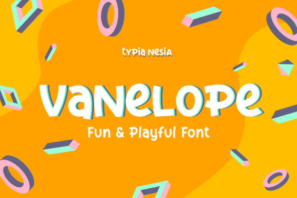 Print on Demand: Vanelope Display Font By Typia Nesia