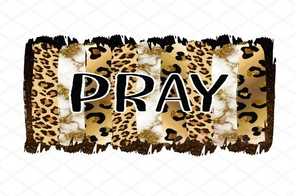 Leopard Pray Graphic Crafts By JSDesigns