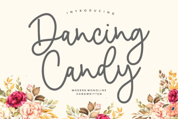 Print on Demand: Dancing Candy Script & Handwritten Font By Balpirick