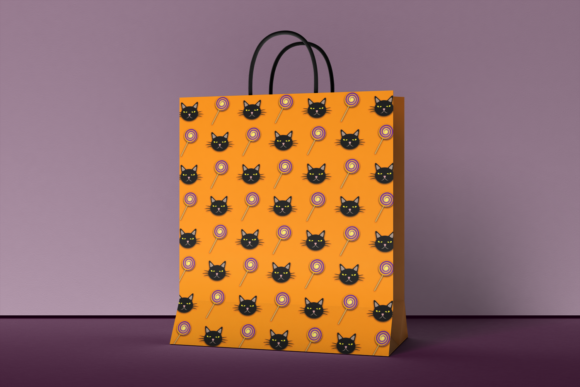 Print on Demand: Halloween Digital Patterns Vol. 02 Graphic Patterns By La Oliveira - Image 3