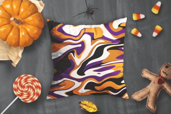 Print on Demand: Halloween Digital Patterns Vol. 02 Graphic Patterns By La Oliveira - Image 4