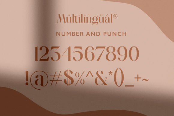 Print on Demand: Hugolers Serif Font By Temp here - Image 4