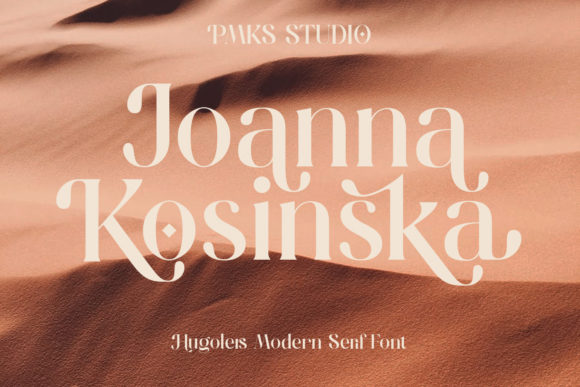 Print on Demand: Hugolers Serif Font By Temp here - Image 6
