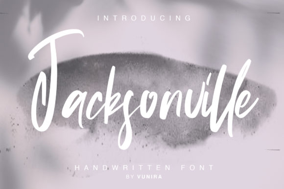 Print on Demand: Jacksonville Script & Handwritten Font By Vunira