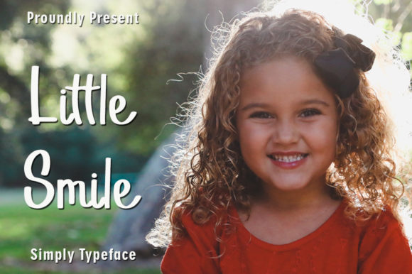 Print on Demand: Little Smile Script & Handwritten Font By rangkaiaksara