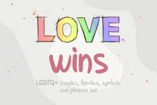 Love Wins: LGBTQ+ Graphic Illustrations By AlenaO