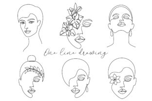 One Line Drawing Graphic Illustrations By fatamorganaoptic