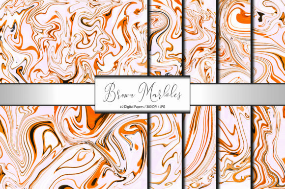 Pattern Background ฺBrown Marble Graphic Backgrounds By porlawatsangyoo