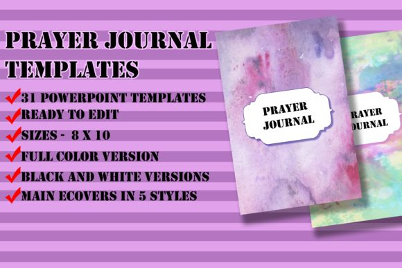 Print on Demand: Prayer Journal Templates for KDP Graphic KDP Interiors By Me610520