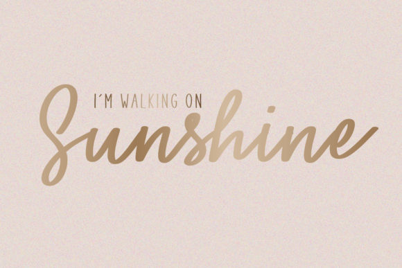 Print on Demand: You Are My Sunshine Script & Handwritten Font By BitongType - Image 2