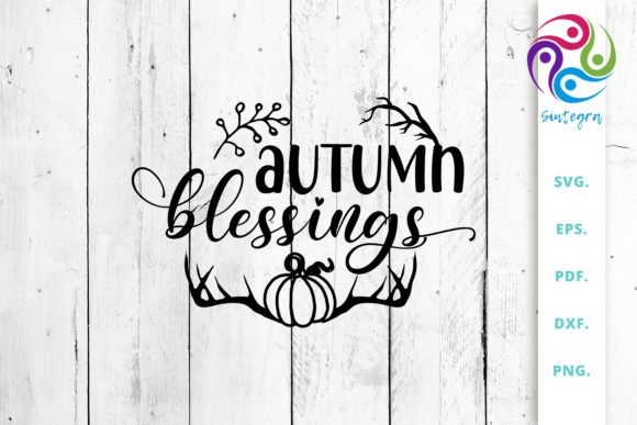 Print on Demand: Autumn Blessings Graphic Crafts By Sintegra