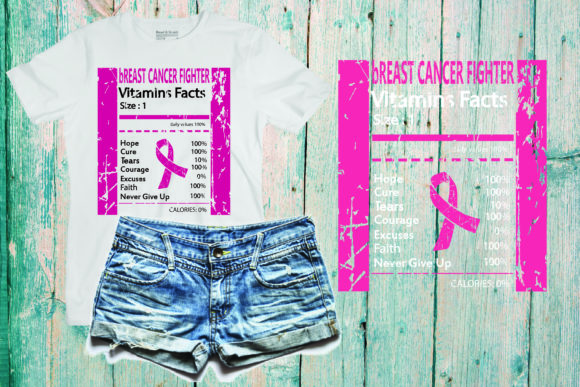 Breast Cancer Fighter Awareness PINK Graphic Crafts By Yayasvg