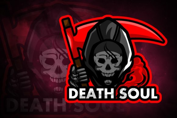 Death Soul E-Sport Logo Graphic Logos By remarena