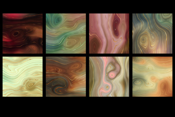 Earth Strata Agate Geode Textures Design