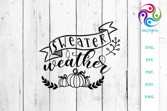 Print on Demand: Sweater Weather Graphic Crafts By Sintegra