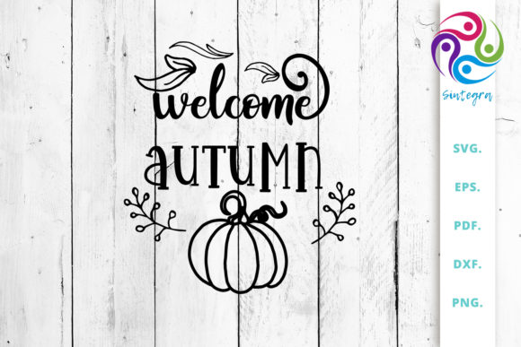 Print on Demand: Welcome Autumn Graphic Crafts By Sintegra