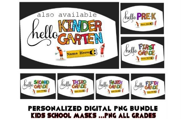 Kids Mask Template Png, All Grades Sub Graphic Print Templates By aarcee0027