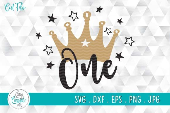 One Cut File First Birthday Graphic Crafts By EasyConceptSvg