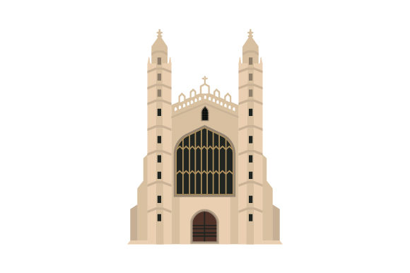 King's College Chapel, Cambridge UK Designs Craft Cut File By Creative Fabrica Crafts