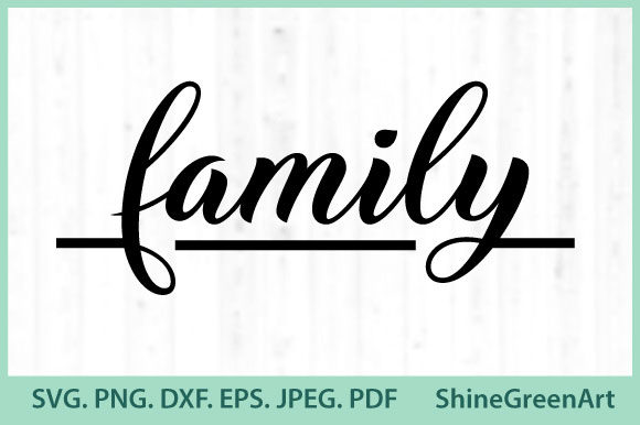 Print on Demand: Christmas Family Love Graphic Crafts By ShineGreenArt