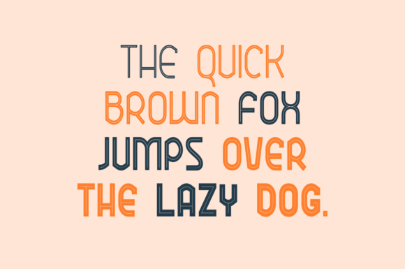 Ekela Punch Condensed Font Preview